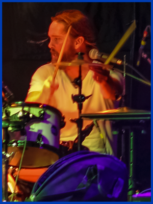 Jason Nelson - Drums - The Royal Blue band - Appleton WI